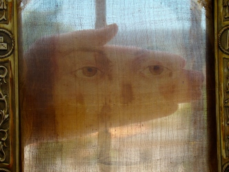 Sheer Veil of the Holy Face of Manoppello Photo: Paul Badde
