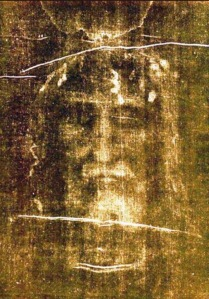 Holy Face on The Shroud of Turin
