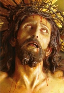 "The Holy Face of The Miraculous ""Limpias Crucifix"""