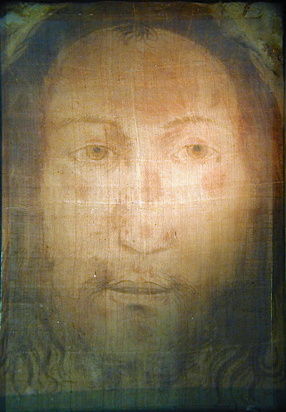 "Holy Face ""Il Volto Santo"" of Manoppello, photo: Paul Badde"