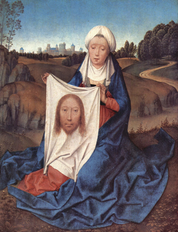 St. Veronica, the model of reparation to The Holy Face