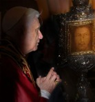 Pope Benedict XVI Visit to the Holy Face of Manoppello in 2006