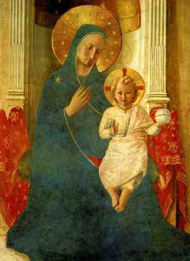 Mary, Mother of God (Fra Angelico)
