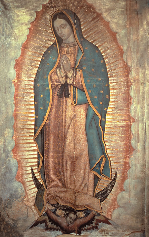 "Miraculous Image of Our Lady of Guadalupe ""I am your merciful Mother."""