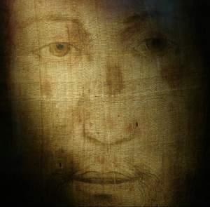 """Il Volto Santo"" Holy Face of Manoppello, Italy photo: Paul Badde"