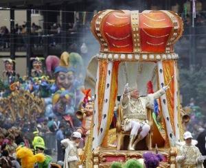 "Mardi Gras ""king"""