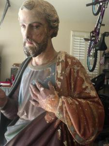 St. Joseph in need of restoration