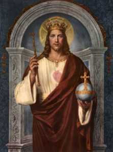 "Jesus Christ, King of the Universe, ""the living Face of God's Mercy.""--Pope Francis"