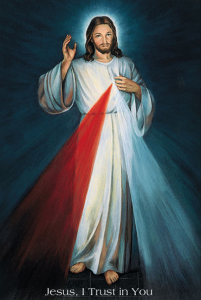 Divine Mercy Jesus, I trust in You!