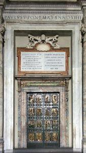 """The Holy Door"" of St. Peter's Basilica"