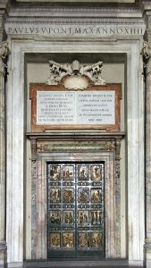 """The Holy Door"" of St. Peter's Basilica"