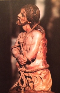 St. Teresa's statue of Jesus scourged