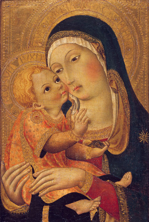 Madonna and Child from the Robert Lehman Collection, Metropolitan Museum of Art