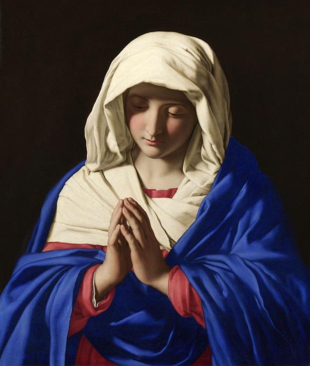 Virgin in Prayer Artist: Sassoferrato 1640-50