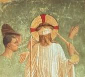 Jesus Blindfolded Fra Angelico