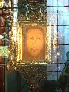 """The contemplation of Christ's Face cannot stop at the image of the Crucified One. He is the Risen One!""~St. Pope John Paul II"