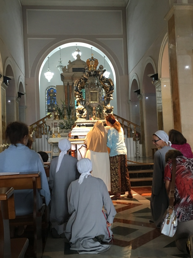 Feast of the Transfiguration veneration of The Holy Face photo: Patricia Enk