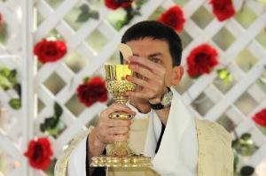 Fr. Ephrem Arcement, OSB (from 2015 Mass of the Roses)