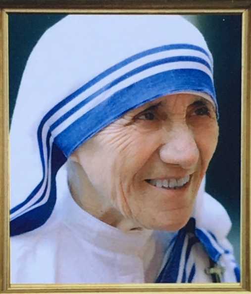 "Saint Mother Teresa ""Saint of Mercy"""