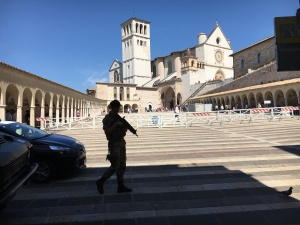 Security in Assisi Photo: Patricia Enk