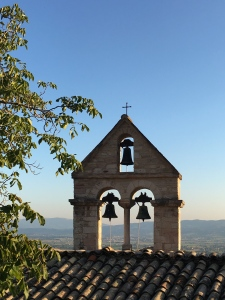 The bells of the church of St. Stephen the Martyr which rang by themselves when St. Francis died.