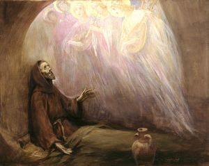 St. Francis of Assisi by Jose Beniliure y Gil