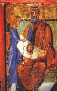 King Abgar with Veil, Monastery of St. Catherine Sinai, Egypt 8th Century