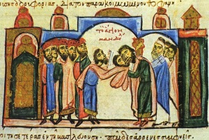 13th Century Surrender of the Mandylion in Constantinople