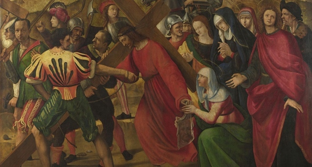 Ridolfo Ghirlandaio, 1483 - 1561 The Procession to Calvary ca. 1505, detail