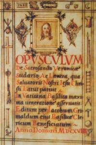 Opusculum by Jacopo Grimaldi (altered date of 1618