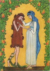 """Mary and Eve"" by Sr. Grace Remington, OCSD (link here)"
