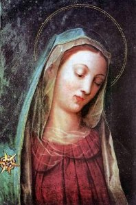 Our Lady of the Bowed Head, Vienna, Austria (notice her byssus veil)