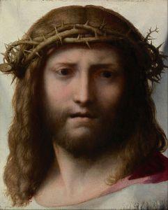 Head of Christ, Corregio, 1521