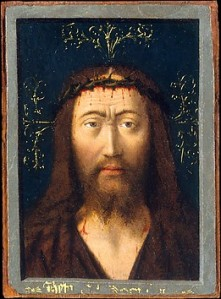 Head of Christ, Petrus Christus ca. 1440 The Met