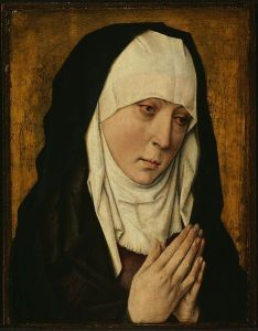 Mater Dolorosa by Dieric Bouts, 1470-75